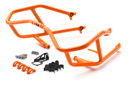BARRES DE PROTECTION ORANGE KTM 1050 ADVENTURE