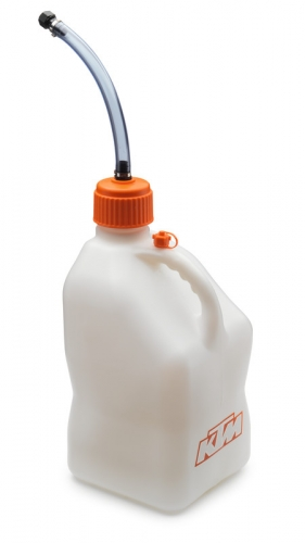 BIDON ESSENCE PLASTIQUE 20L KTM TRANSPARENT