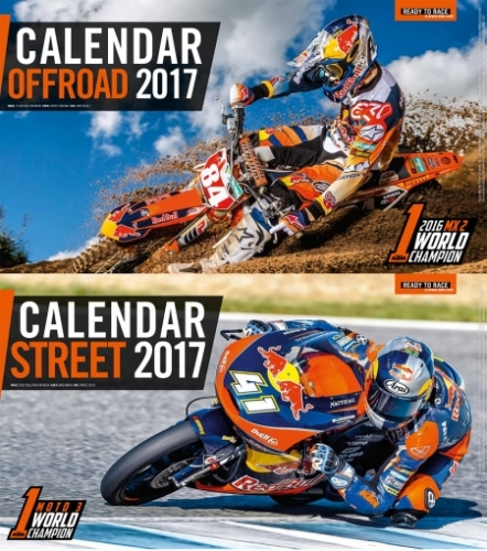 CALENDRIER OFFROAD/STREET KTM 2017