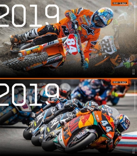 CALENDRIER OFFROAD/STREET KTM 2019