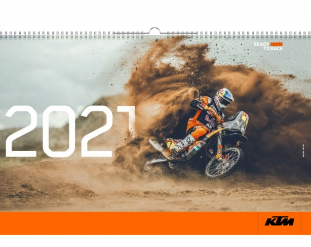 CALENDRIER OFFROAD/STREET KTM 2021