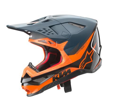 CASQUE MX ALPINESTARS KTM SM10 FLASH