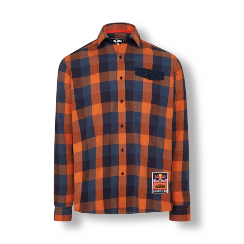 CHEMISE RED BULL KTM RACING TEAM CHECKED 20