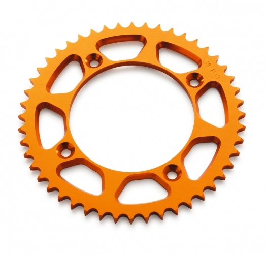 COURONNE ALUMINIUM ORANGE KTM 85 SX 13-20