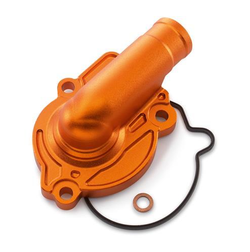 COUVERCLE POMPE A EAU FACTORY ORANGE KTM 125 SX 16-18/ 125 XC-W 17-18