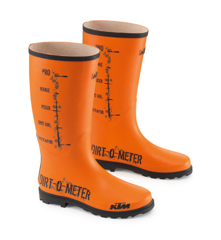 dirt o meter rubber boots