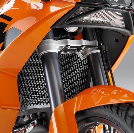 KTM 950 03-06//990 Adventure//R 06-12 Radiateur Capot Eau Refroidisseur Clean Noir
