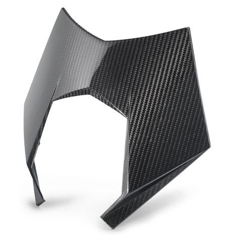 headlight mask carbon