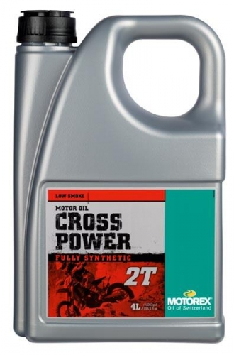 HUILE MOTOREX 2T CROSS POWER 4L