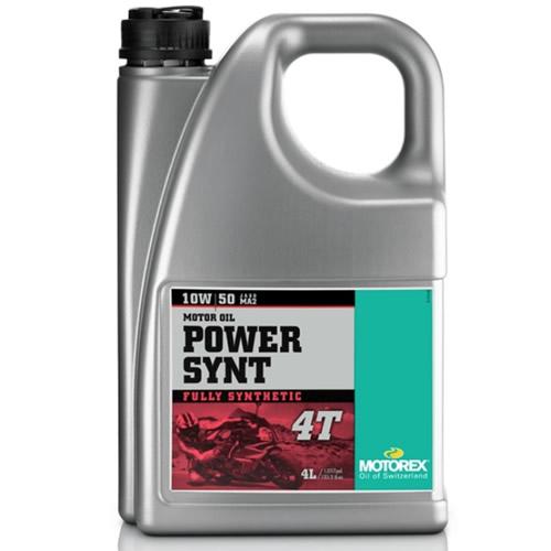 HUILE MOTOREX 4T POWER SYNT 10W50 4L