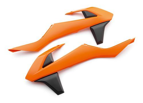 JEU OUIES DE RADIATEUR KTM EXC 17/ 125/150 SX 16-17/ 250 SX 17/ SX-F 17