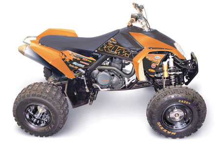 KIT DECO COMPLET RACING KTM ATV SX/XC