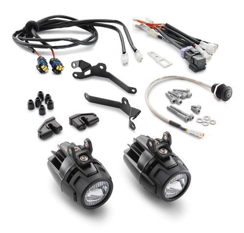 KIT LAMPES ADDITIONNELLES KTM 1050 ADVENTURE 15-16 / 1090 ADVENTURE/R 17/ 1190 ADVENTURE/R 13-16/ 1290 SUPER ADVENTURE 15-16/ 1290 SUPER ADVENTURE T 17