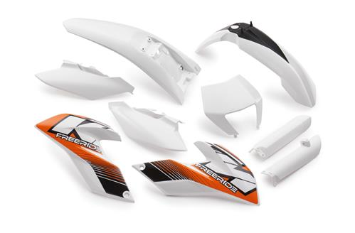 KIT PLASTIQUE KTM FREERIDE 350 14