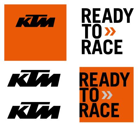 KIT STICKER  KTM 21X15CM
