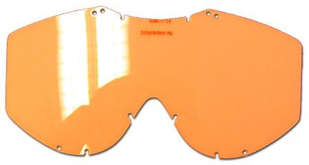 lens orange racing goggles