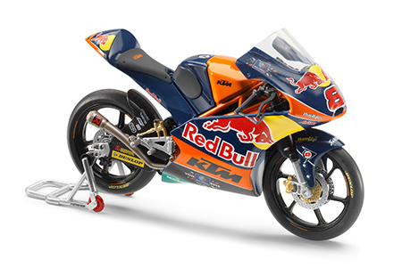 MOTO MINIATURE KTM RED BULL RC 250 R 16