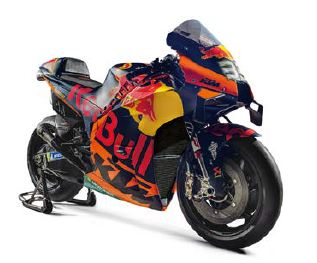 MOTO MINIATURE KTM RED BULL RC16 MOTOGP BRAD BINDER 33