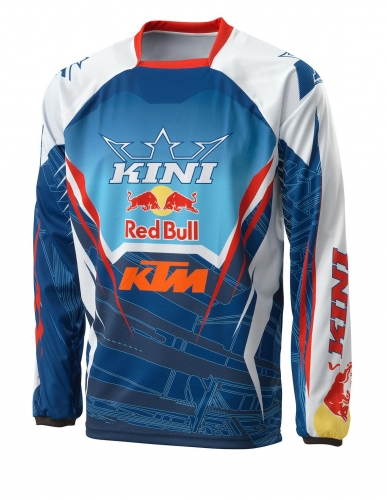maillot mx ktm kini red bull competition navy 16. Black Bedroom Furniture Sets. Home Design Ideas