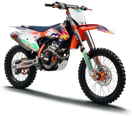 KIT DECO COMPLET FACTORY KTM 125/150 SX/ SX,F 16,17/ 250 SX 17