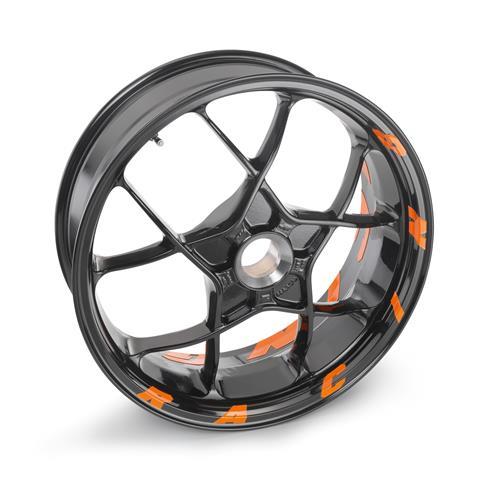 Ktm X Bow >> JEU STICKERS JANTES RACING ORANGE KTM 1290 SUPER DUKE R 14-17