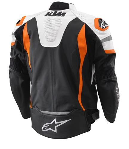 veste cuir route ktm alpinestars motegi. Black Bedroom Furniture Sets. Home Design Ideas