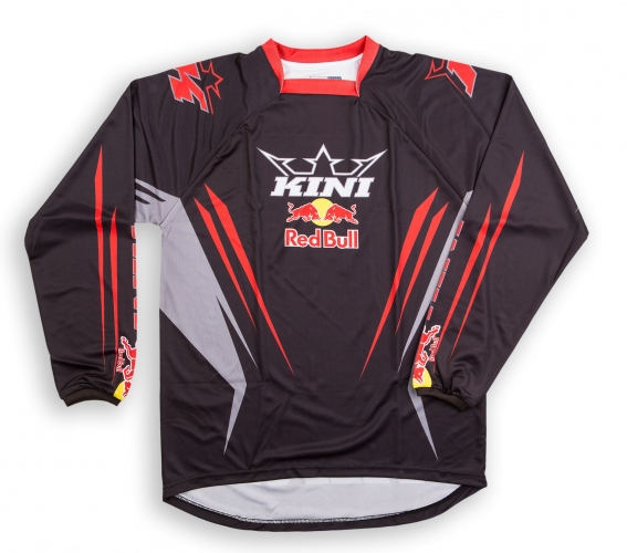 maillot mx kini red bull competition noir 18. Black Bedroom Furniture Sets. Home Design Ideas
