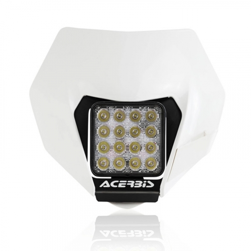 Plaque Phare Led Complete Blanche Ktm Exc 13 16 Exc F 13 16
