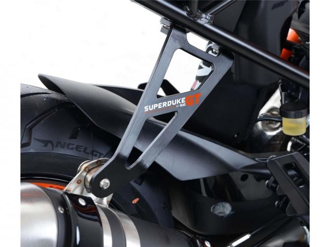 PATTE FIXATION SILENCIEUX R&G NOIR KTM 1290 SUPERDUKE GT