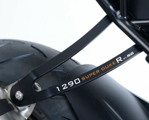PATTE FIXATION SILENCIEUX R&G NOIR KTM 1290 SUPER DUKE R 17-19
