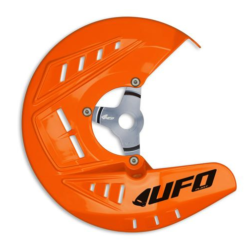PROTECTION DE DISQUE AVANT UFO ORANGE KTM SX 15-16/ EXC 16