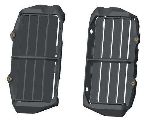 PROTECTION RADIATEUR KTM EXC 17-18/ SX-F 16-18/ 125/150 SX 16-18/ 250 SX 17-18/ XC-W 17-18