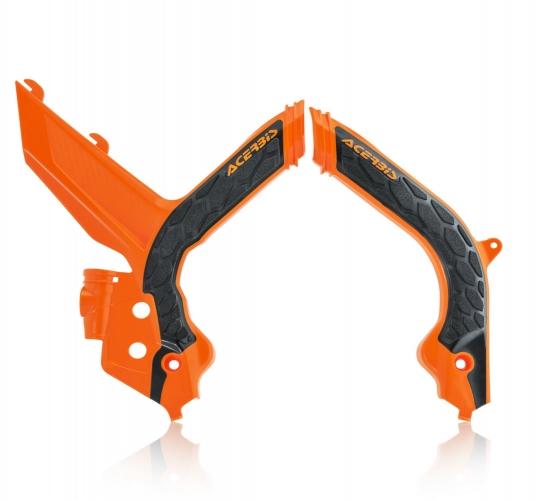PROTECTIONS DE CADRE X-GRIP ACERBIS KTM SX/SX-F 19-20/ EXC/EX-F 20