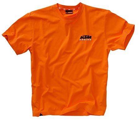 racing orange tee