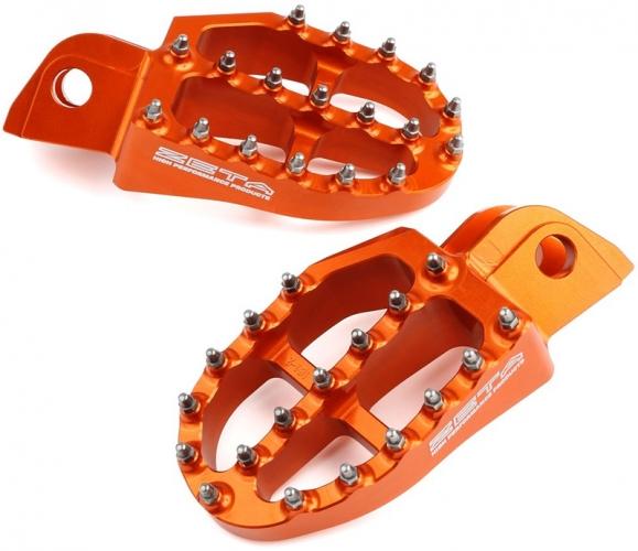 REPOSE PIEDS PICOT ZETA ORANGE KTM SX 98-15/EXC 98-16/ 250 SX 16