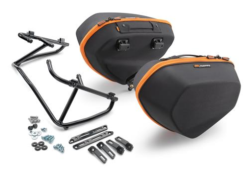 SACOCHES LATERALES AVEC SUPPORT KTM 690 DUKE/R 12-17