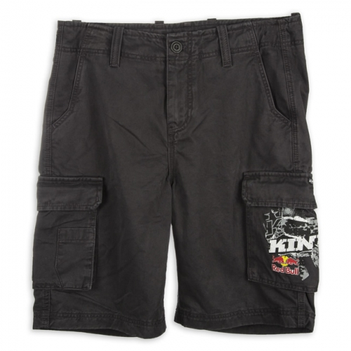 SHORT CARGO KINI RED BULL GRIS FONCE