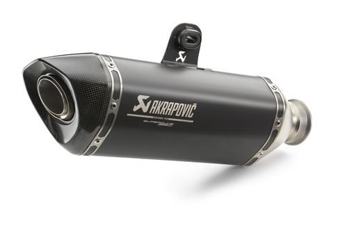 SILENCIEUX SLIP-ON AKRAPOVIC NOIR KTM 1290 SUPERDUKE R
