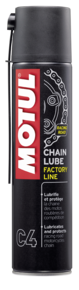 spray motul chain lube factory line