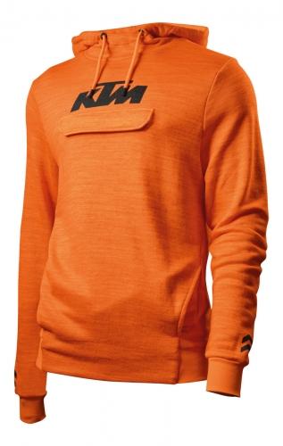 SWEAT CAPUCHE KTM PURE ORANGE 19
