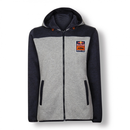 SWEAT ZIPPE CAPUCHE FEMME RED BULL KTM RACING TEAM
