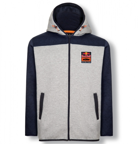 SWEAT ZIPPE CAPUCHE RED BULL KTM RACING TEAM GRIS 19
