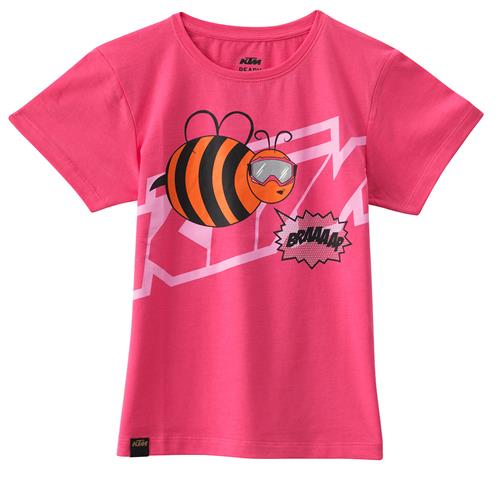 TEE SHIRT ENFANT FILLE KTM GIRLS BEE 17