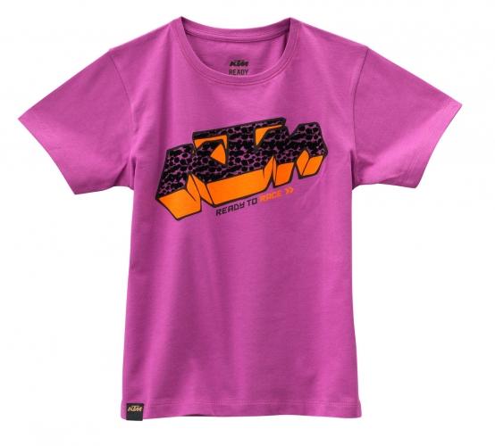 TEE SHIRT ENFANT FILLE KTM RACEGIRL
