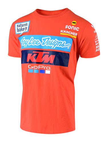 TEE SHIRT ENFANT TEAM KTM TROY LEE DESIGNS 19