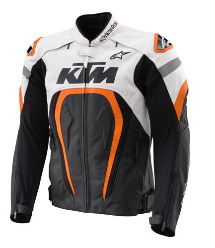 VESTE CUIR ROUTE KTM ALPINESTARS MOTEGI 17